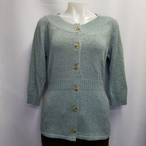 Eddie Bauer NWOT Button Up Cardigan Sweater M